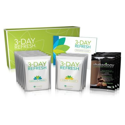 Shakeology Chocolate with Beachbody 3 Day Refresh