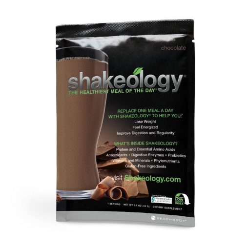 Shakeology Chocolate with Beachbody 3 Day Refresh Front
