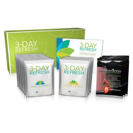 Shakeology Strawberry with Beachbody 3 Day Refresh