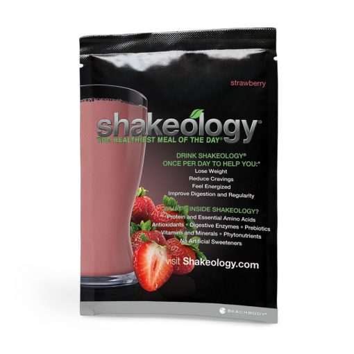 Shakeology Strawberry with Beachbody 3 Day Refresh Front